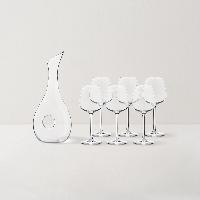 6+1 红酒杯醒酒器超值套组6只红酒杯+1套水晶醒酒器