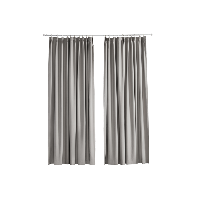 简约现代遮光窗帘1.4m宽x2.6m高(1片)*灰色