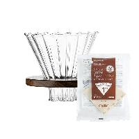 咖啡滤杯分享壶套装V60滤杯+滤纸