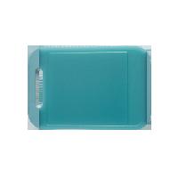 雙面抗菌 防滑透明菜板中號長方形36.8X24.8CM