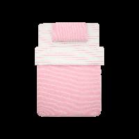 日式全棉针织三件套珍珠粉