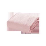 日式色织水洗棉床笠1.8M床:180*200*25cm*薄粉