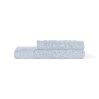 埃及进口长绒棉毛浴巾组合暮色蓝(毛巾+浴巾)x1条