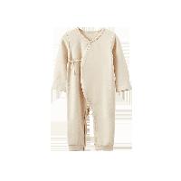 彩棉长袖连体衣(婴童)66cm(建议3-6个月)