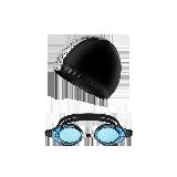 游泳2件套(泳帽+泳镜)套餐5