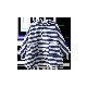 海军小斗篷雨衣蓝白条纹
