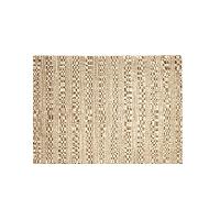 羊毛 手工地毯檀香黄