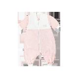 可拆袖双层分腿睡袋80/48:建议身高72-88cm*粉色小书虫