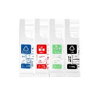 提手式分类垃圾袋 4卷90只1套装(4卷,共90只/袋)