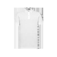 男式丝光棉POLO衫白色*L(175/92A)