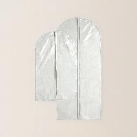 棉麻涤防尘衣罩组合大(60*135cm)+小(60*100cm)