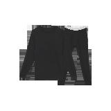 男式咖啡碳+3℃保暖内衣(上衣+裤子)黑色套装*M