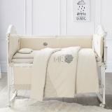 彩棉婴儿床品14件套120x65cm,适合幼童床/幼儿园床