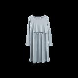 隐形便哺乳连衣裙青灰色均码