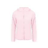 女式戶外防曬運動皮膚衣粉色*S