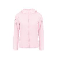 女式户外防晒运动皮肤衣粉色*S