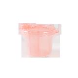 三格分装零食碗蜜粉色