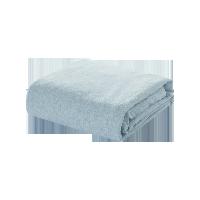 全棉针织素色床笠1.5M床:150*200*25cm*水蓝
