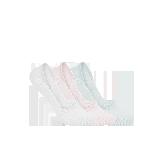 女式纯色抑菌隐形袜灰、白、粉(三双装)