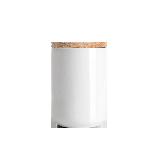 炻瓷储物罐系列D10.5xH14cm米色