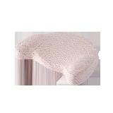 婴儿月牙定型记忆枕粉色