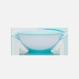 打不翻的吸盘碗粉蓝