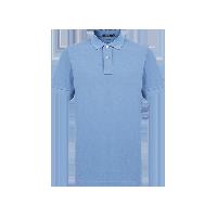 男式丝光棉POLO衫灰蓝色*S(165/84A)