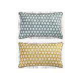 科尔玛小镇·提花抱枕套 2件组合装科尔玛小镇·提花抱枕套 2件组合装*清新绿+柠檬黄(仅抱枕套)