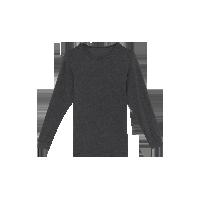 男式咖啡碳保暖内衣(可单买上衣/裤子)深麻灰保暖上衣*M