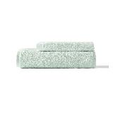 阿瓦提长绒棉毛浴巾组合复古绿(毛巾+浴巾)x1条