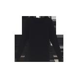 女式咖啡碳保暖内衣(可单买上衣/裤子)黑色保暖上衣*S