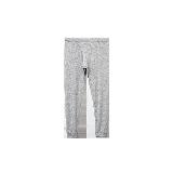 男式咖啡碳保暖内衣(可单买上衣/裤子)浅麻灰保暖裤*M