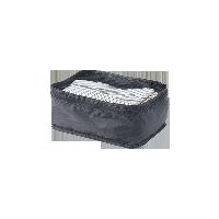 梭织布可折叠旅行收纳包黑色 小款 单层