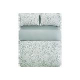 月白林青·全棉提花四件套1.8m床:适用2.2mx2.4m被芯