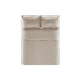 21s磨毛四件套 升级款浅卡其*1.5m床:适用2mx2.3m被芯