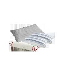 自然怡养草本枕礼盒烟灰色草本护颈枕+枕巾组合