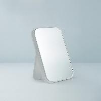 磨砂圓角桌面鏡磨砂白