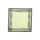 真絲斜紋綢方巾茶綠