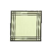 真丝斜纹绸方巾茶绿