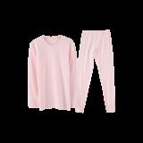 超柔软 有机棉保暖套装(女童)130*浅粉