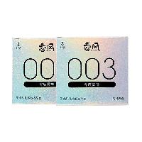 【特邀專享】春風003零度霧薄避孕套2盒*3只裝