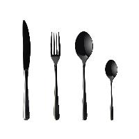公爵系列西餐具 四件套【4件套】餐刀*1;餐叉*1;餐勺*1;茶勺*1