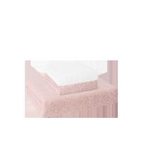 玉兔入怀毛浴巾礼盒毛巾(白色+粉色)+浴巾(粉色)礼盒