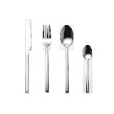 西餐具 四件套【4件套】餐刀*1;餐叉*1;餐勺*1;茶勺*1