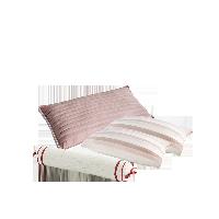 自然怡养草本枕礼盒水粉色草本护颈枕+枕巾组合