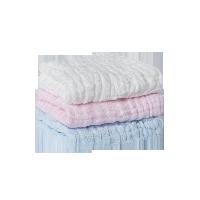 棉质生活 全棉五层吸水纱布童巾(婴童)3条装