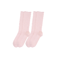 森林日系四季长筒堆堆袜少女粉*2