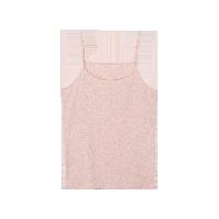 女式皮马棉基础吊带粉色 1件*S