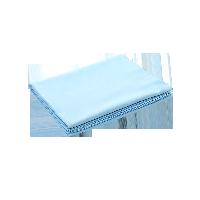 全棉贡缎纯色床单天蓝色*1.5M床:245*250cm