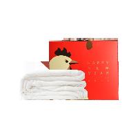 鸡年礼盒  双宫茧纱布美肤手工蚕丝被200*230cm